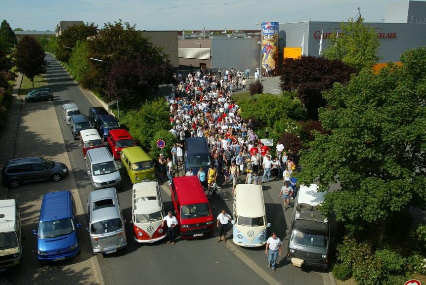 VW Bus Deutschlandtreffen 2004 - 170