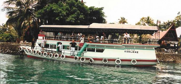VW-Bus-Club Koblenz geht ins Wasser