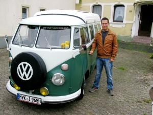 T1 Camper Pablo und Johannes Klee, foto joju
