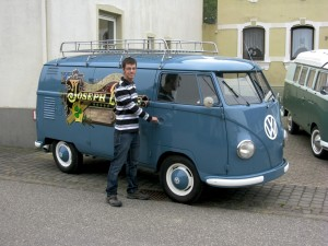 T1 Kastenwagen Elfriede und Joseph Klee, foto joju