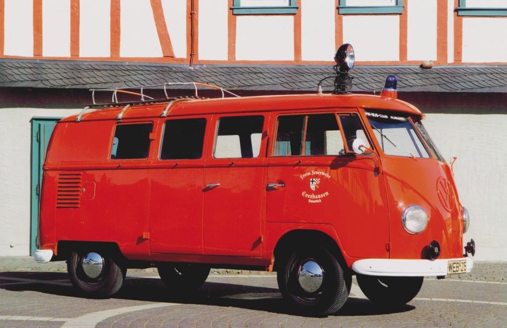 VW Bus Feuerwehr, m.klee