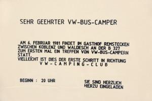 Zettelaktion von M. Klee, foto kdh