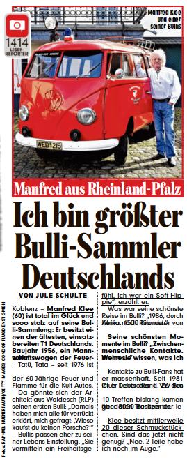 BILD Bullisammler