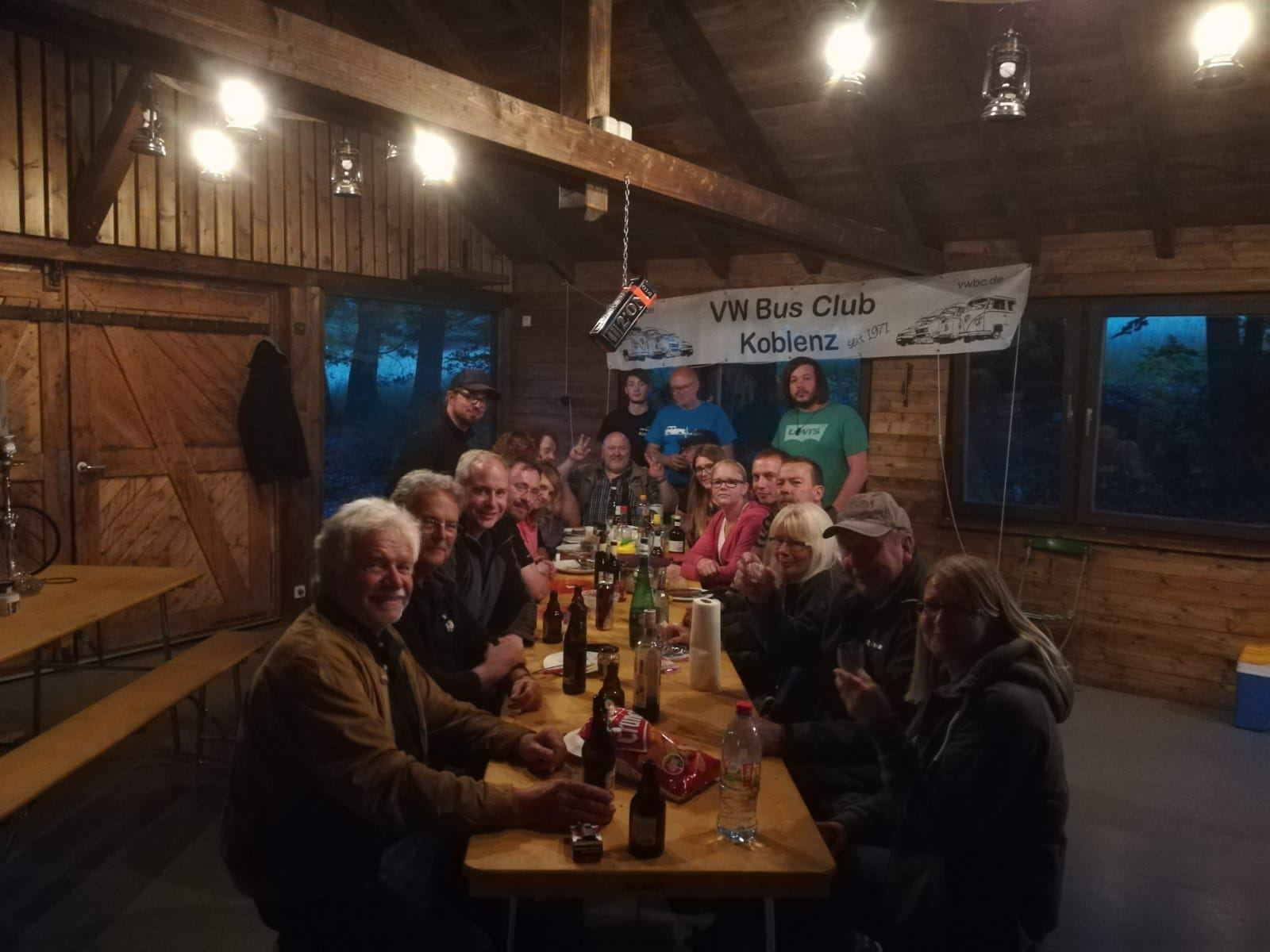 VW Bus Club Clubabend Juni 2019 in Heyweiler