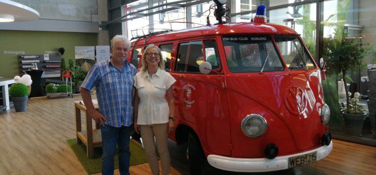 Der älteste, einsatzbereite VW-Bulli steht im Hunsrück