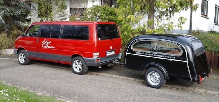 Leichenwagen-Gespann und mehr Kurioses